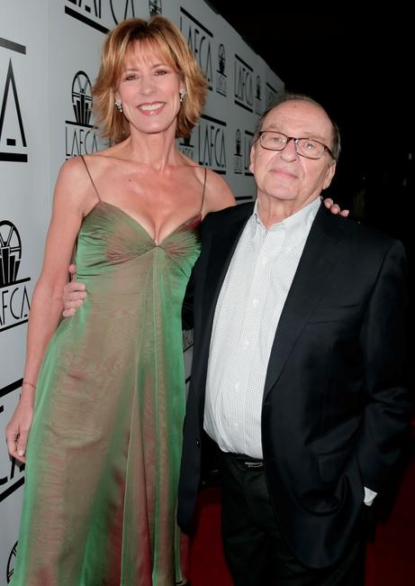 Sidney Lumet and Christine Lahti at the InterContinental for the 2007 LA Film Critics Choice Awards.
