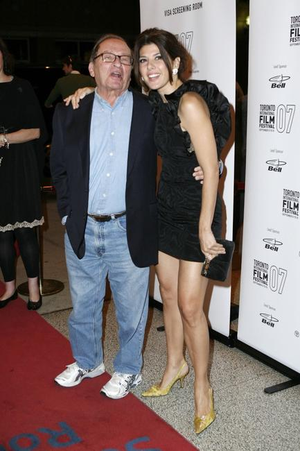 Sidney Lumet and Marisa Tomei at Toronto International Film Festival for the North American Premiere screening of