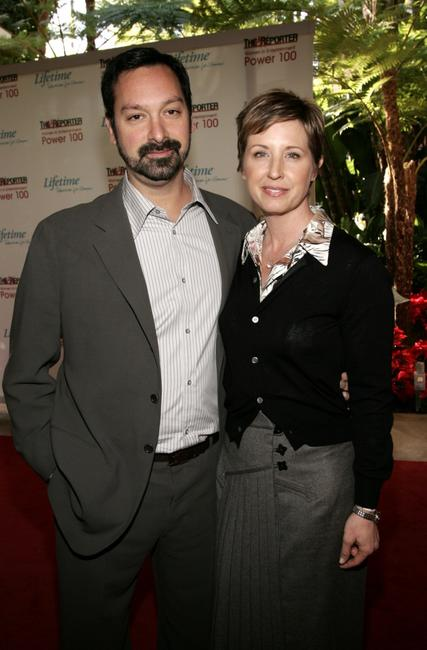 James Mangold and wife, producer Cathy Konrad at the 14th annual Hollywood Reporter Women.