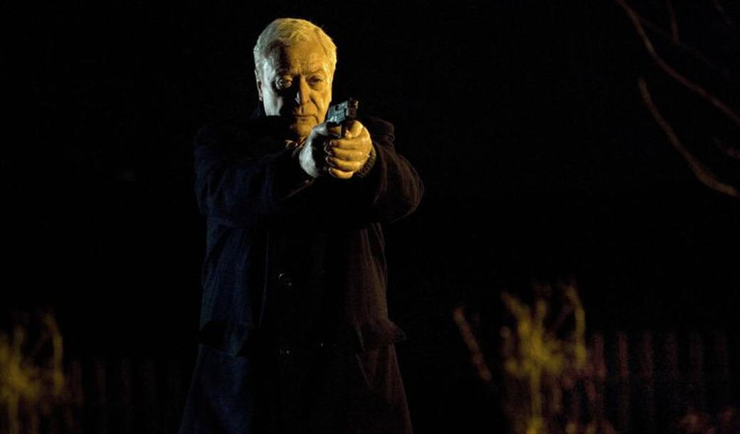 Michael Caine as Harry Brown in
