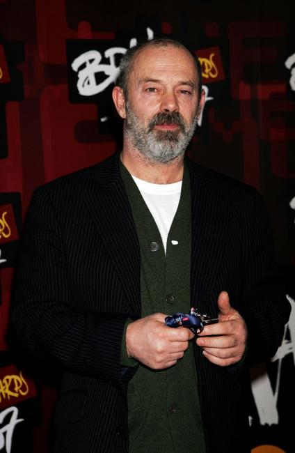 Keith Allen at the BRIT Awards 2007.