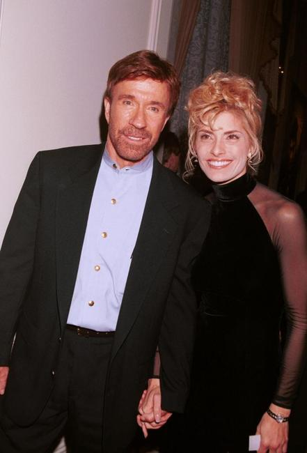 Chuck Norris and Gena O'Kelley at the 6th Annual American Veteran Awards.