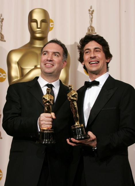 Alexander Payne and Jim Taylor at the 77th Annual Academy Awards.