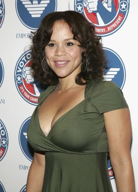 Rosie Perez at the Voto Latino 1st Year Anniversary party.