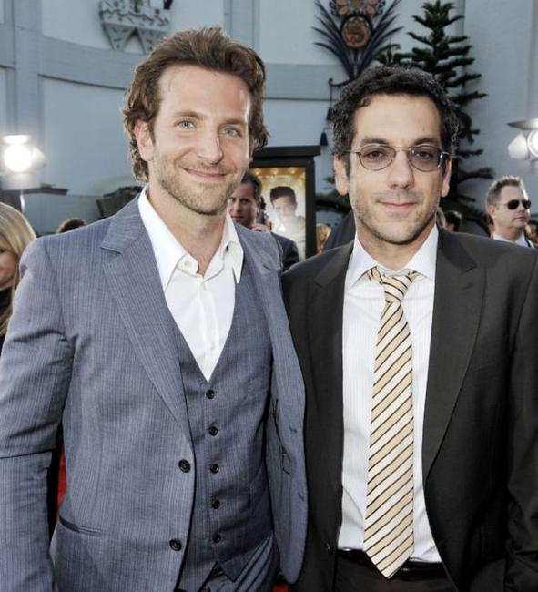 Bradley Cooper and Todd Phillips at the premiere of