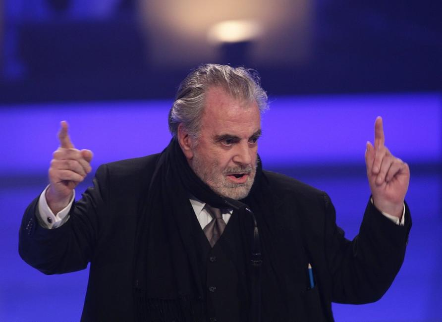 Maximilian Schell at the 27th annual Bavarian Film Award at the Prinzregententheater.