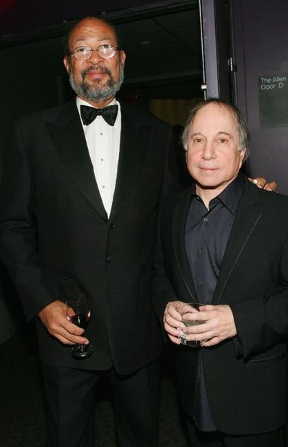 Richard Parsons and Paul Simon at the Time Magazine's 100 Most Influential People.
