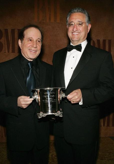 Paul Simon and Guest at the 53rd Annual BMI Pop Awards.