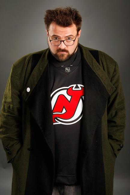 Kevin Smith at the potrait studio for the film