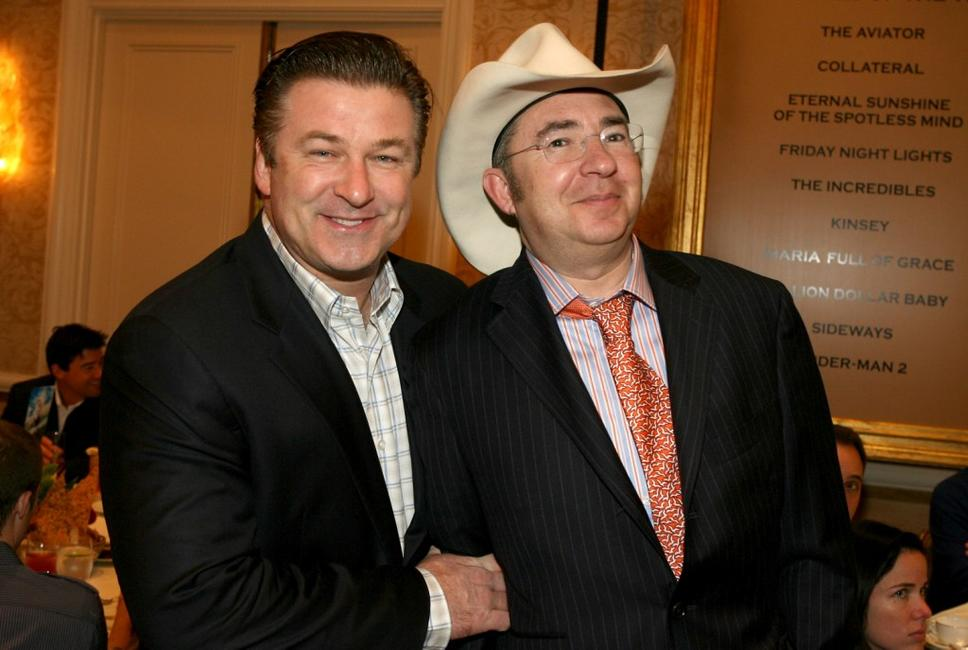 Barry Sonnenfeld and Alec Baldwin at the 8th Annual AFI Awards cocktail reception held at the Four Seasons Hotel.