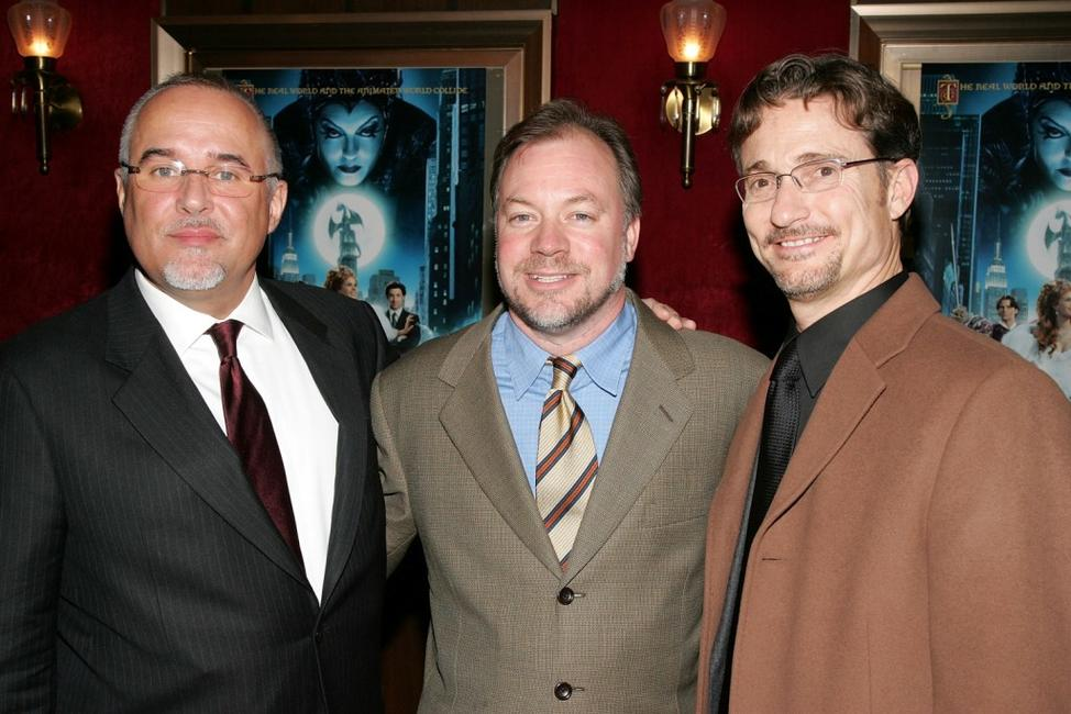 Barry Sonnenfeld, Kevin Lima and Barry Josephson at the screening of