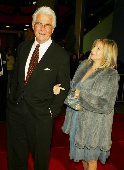 Barbra Streisand and James Brolin at the premiere of