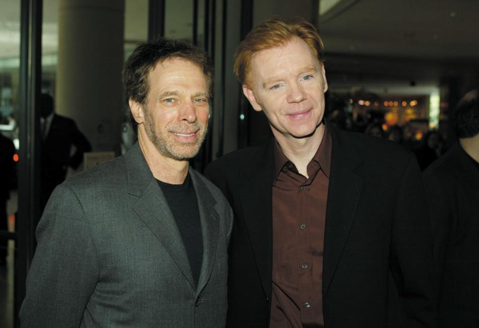 David Caruso and Jerry Bruckheimer at the 40th Annual Publicists Awards Luncheon at the Beverly Hilton Hotel.