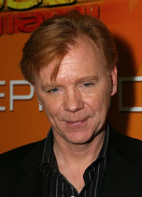 David Caruso at the CSI Miami 100th Episode Cake Cutting Party.