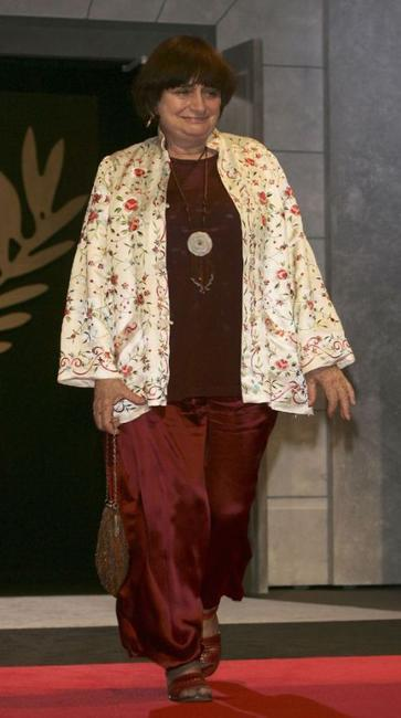 Agnes Varda at the 58th International Film Festival.