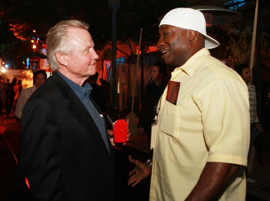 Jon Voight and Michael Clarke Duncan at the afterparty for premiere of Paramount Pictures