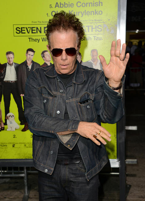 Tom Waits at the California premiere of