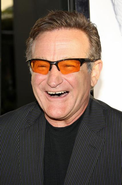 Robin Williams at the world premiere of the film