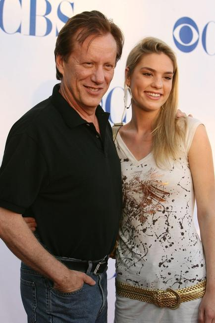 James Woods and Ashley Madison at the CBS 2006 Summer TCA Party.