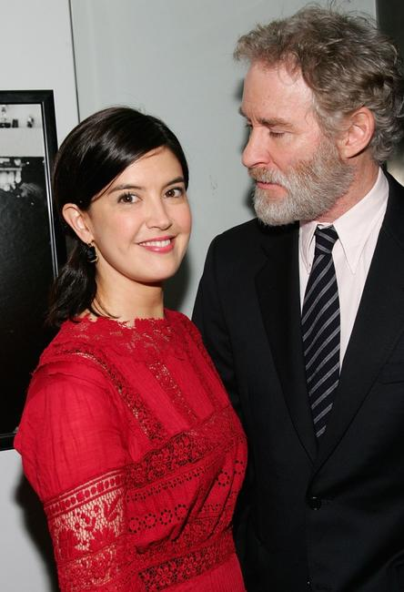 Phoebe Cates and Kevin Kline at the premiere of