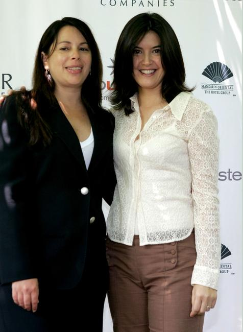 Phoebe Cates and Karen Lauder at the Step Up Women's Network