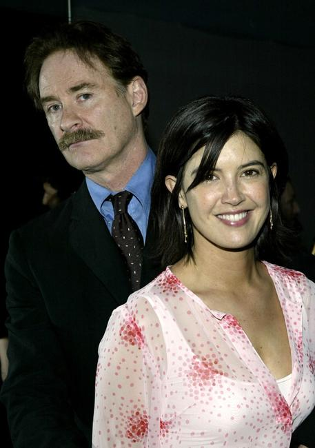 Phoebe Cates and her husband Kevin Kline at the MoMA's 36th Annual Party In The Garden at Roseland Ballroom.