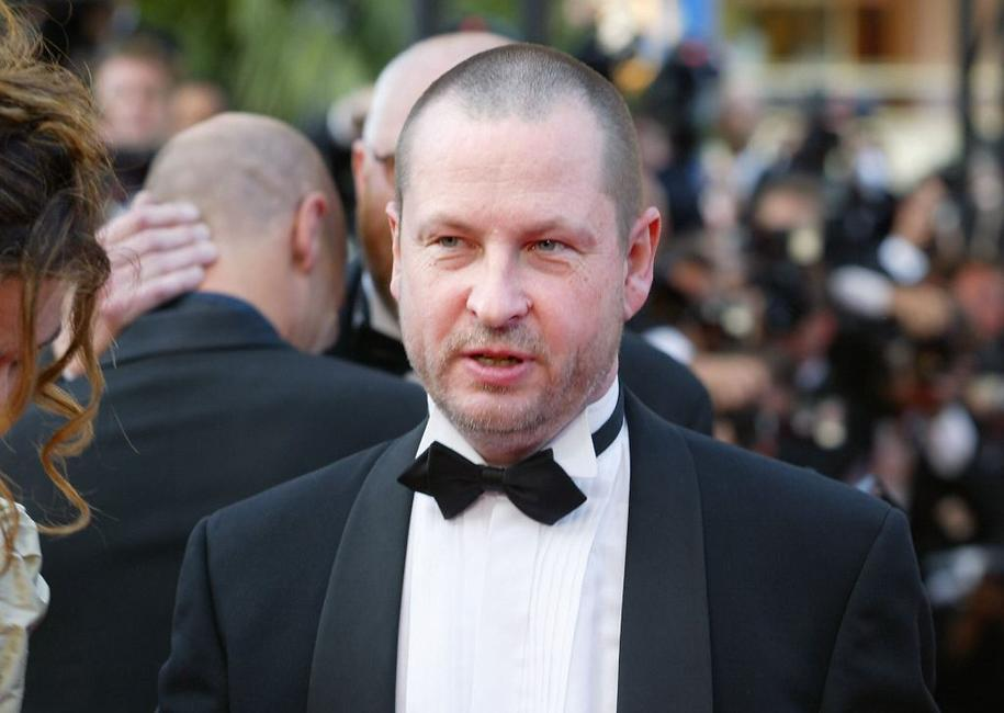 Lars von Trier at the 56th Cannes film festival.