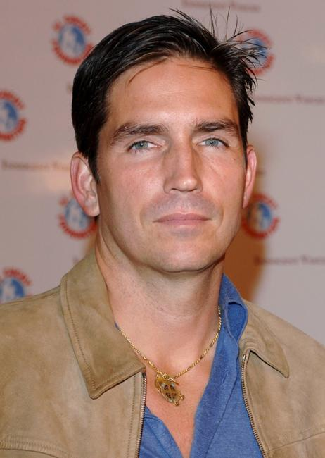 James Caviezel at the premiere of