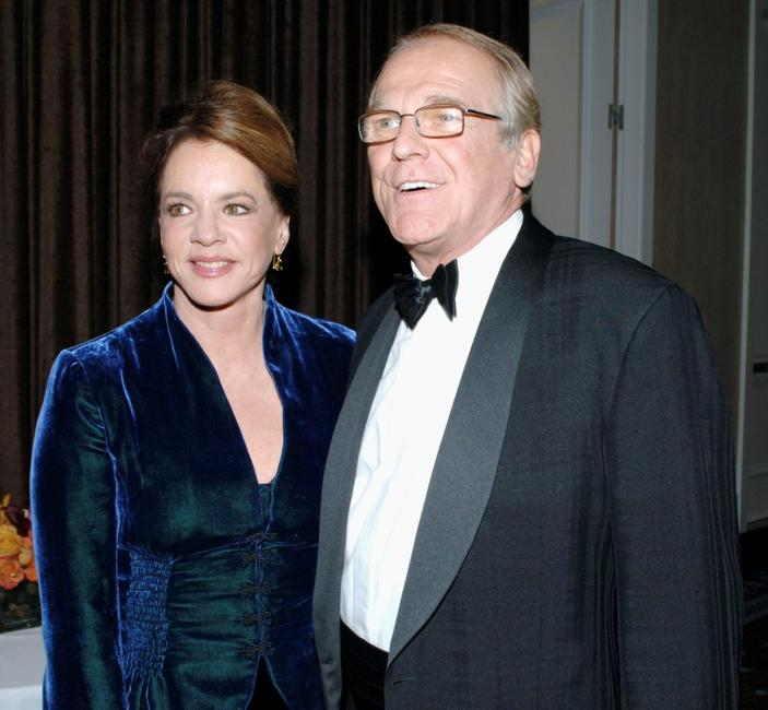 Stockard Channing and actor John Spencer at the Museum of Television & Radio Annual Los Angeles Gala.