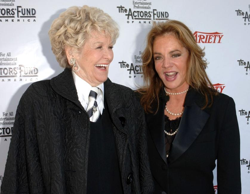 Stockard Channing and Elaine Stritch at the 2005 Tony Awards Party &