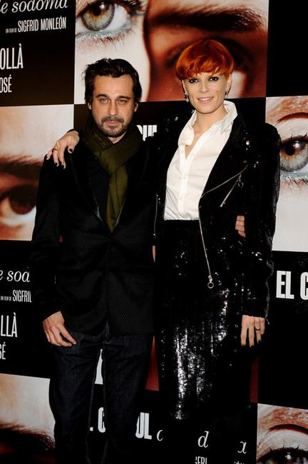Jordi Molla and Bimba Bose at the premiere of