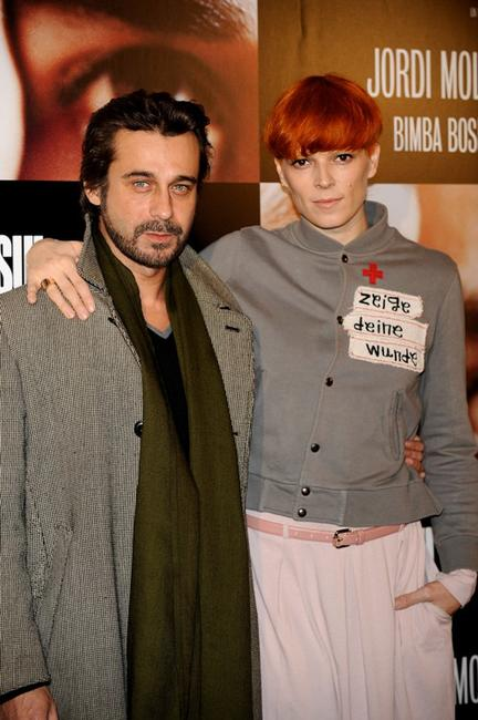 Jordi Molla and Bimba Bose at the photocall of