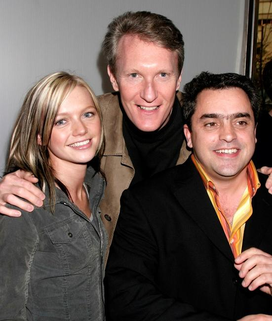 Hannah Spearritt, Chris McGurk and Kevin Allen at the after party of