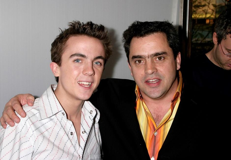 Frankie Muniz and Kevin Allen at the after party of