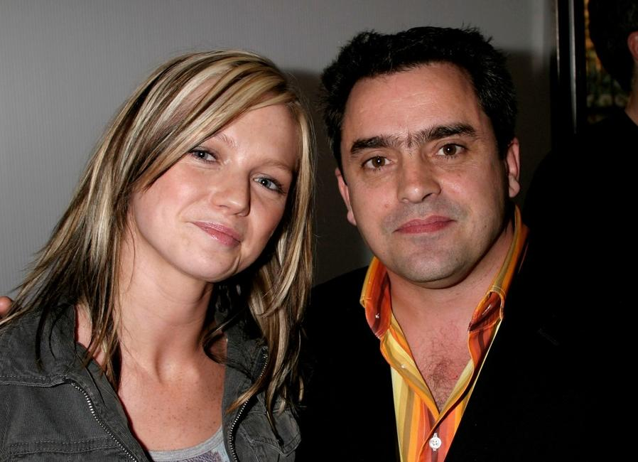 Hannah Spearritt and Kevin Allen at the after party of