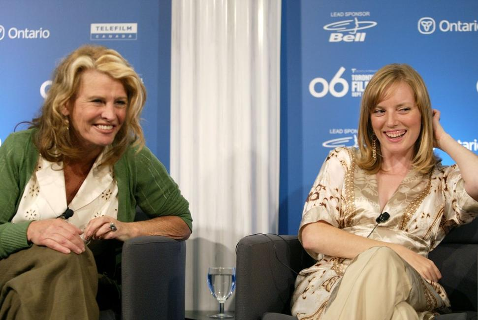 Julie Christie and Sarah Polley at the Toronto International Film Festival, attend the