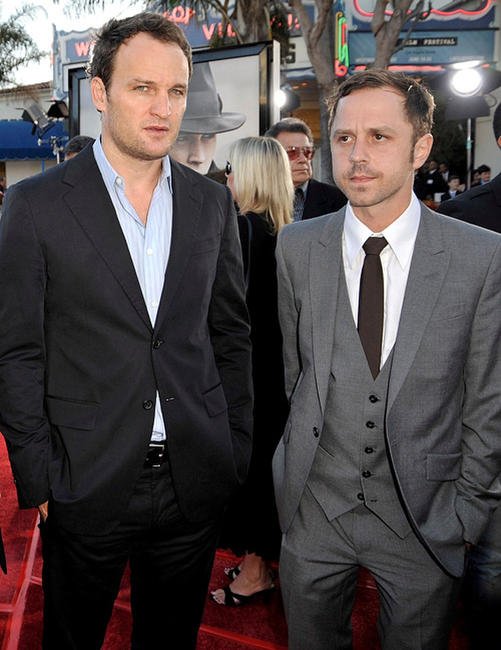 Jason Clarke and Giovanni Ribisi at the California premiere of