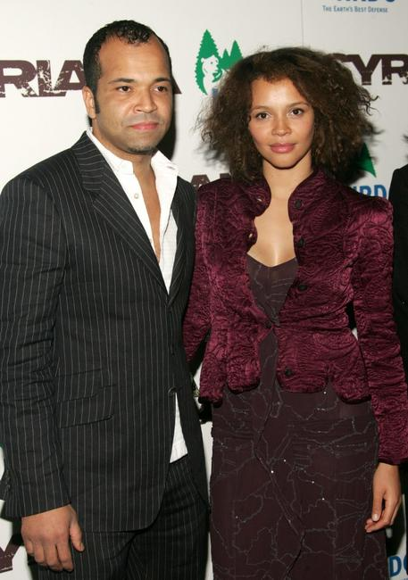 Jeffrey Wright and Carmen Ejogo at the premiere of