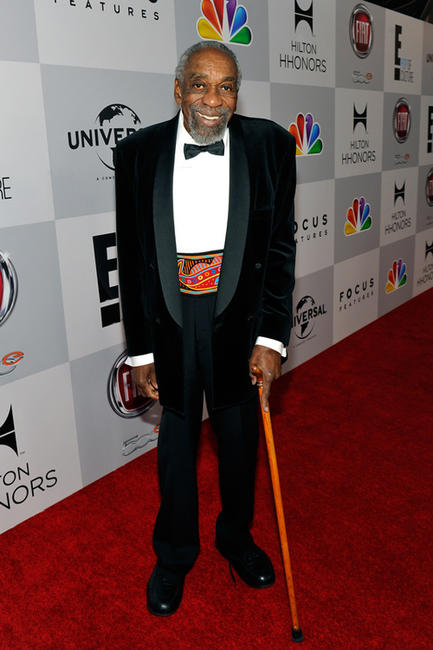Bill Cobbs at the NBCUniversal Golden Globes Viewing and After Party in California.