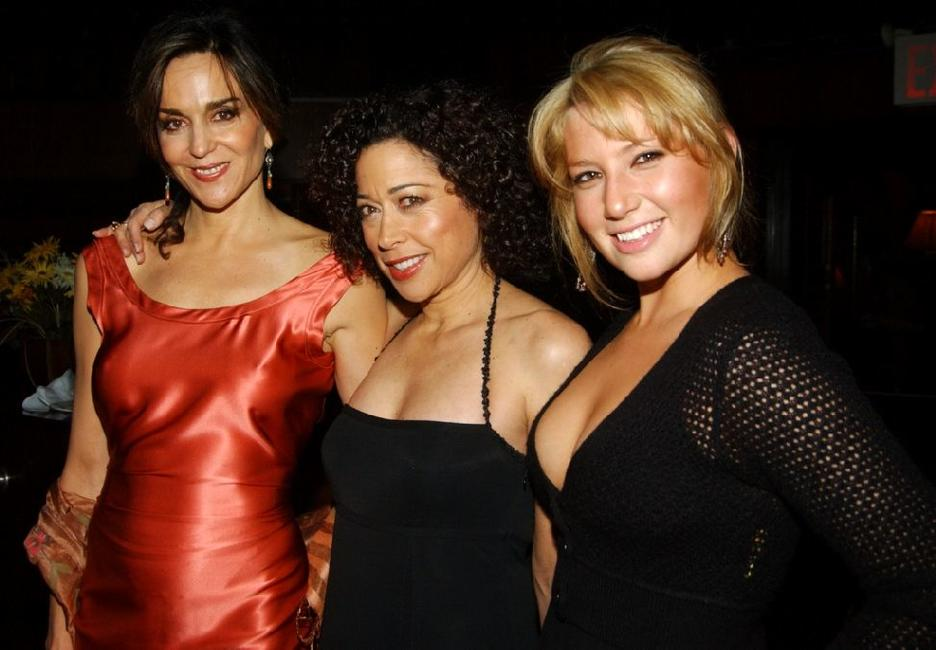 Polly Draper, Mimi Lieber and Ari Graynor at the after party of the opening night of