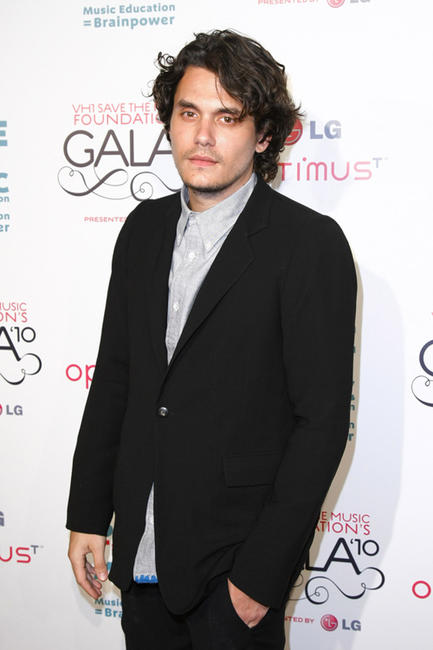 John Mayer at the Vh1 Save The Music Foundation Gala in New York.
