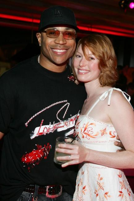 LL Cool J and Alicia Witt at the opening of