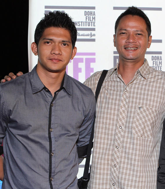 Iko Uwais and Ray Sahetapy at the portrait session of