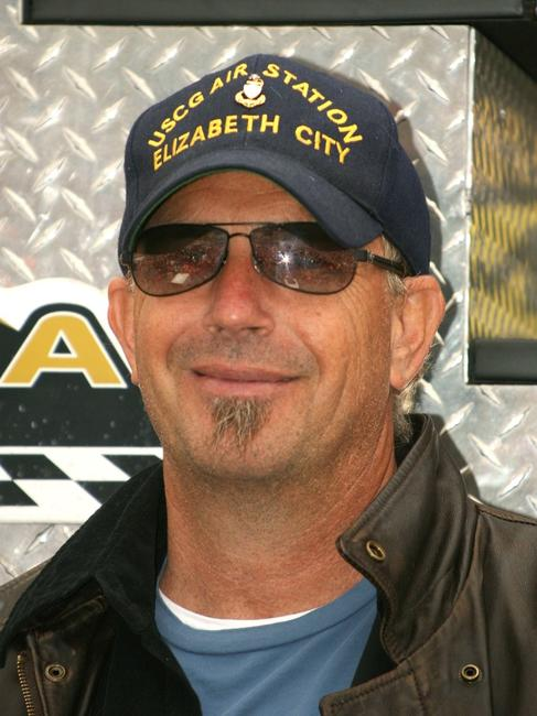 Kevin Costner at the NASCAR Nextel Cup Series Auto Club 500.
