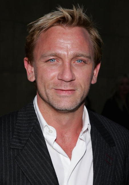 Daniel Craig at the L.A. premiere of
