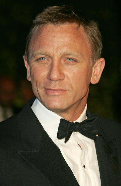 Daniel Craig at the 2007 Vanity Fair Oscar Party in Hollywood.