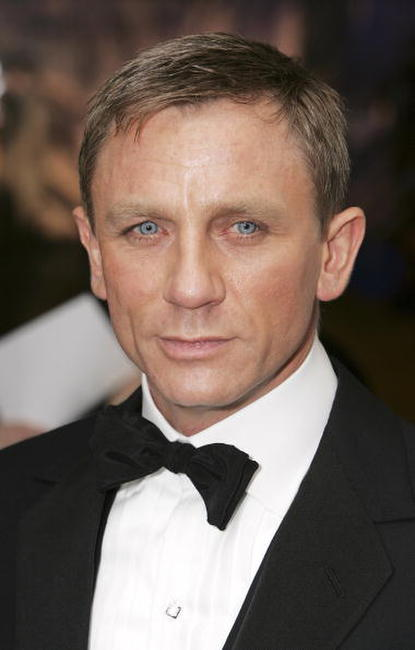 Daniel Craig at the Royal Film Performance 2006 and the London premiere of