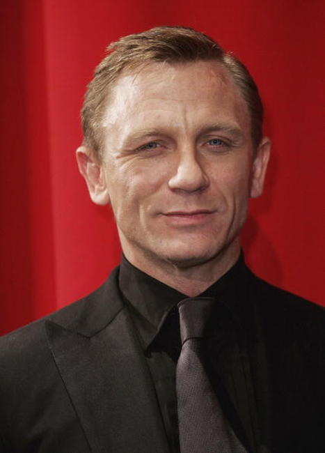 Daniel Craig at the Berlin premiere of