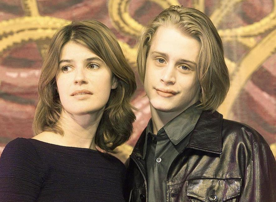 Macaulay Culkin and Irene Jacobat the London for the photocall of