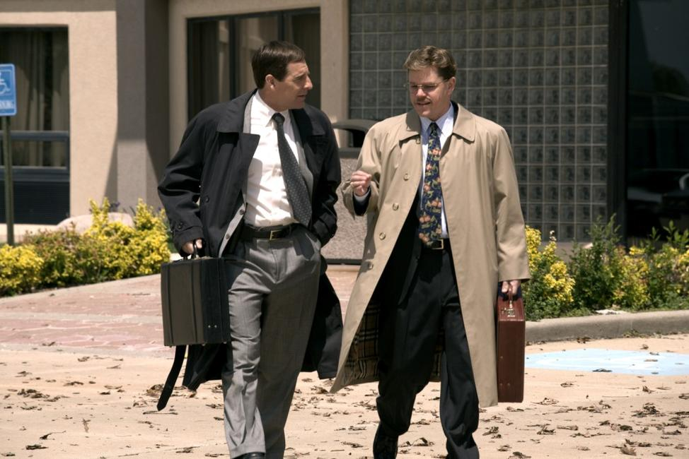 Scott Bakula as FBI Special Agent Brian Shepard and Matt Damon as Mark Whitacre in
